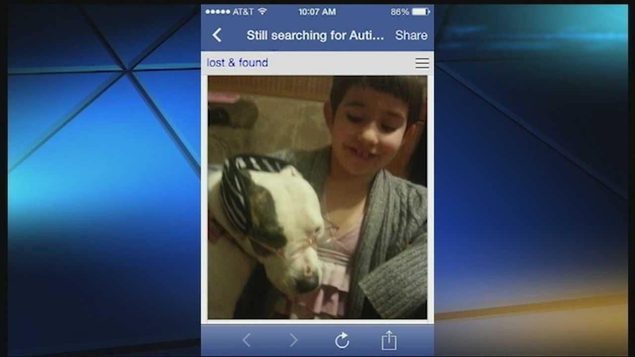Autistic girl hopes for return of beloved pitbull