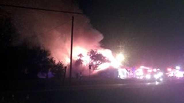 Shawnee store fire