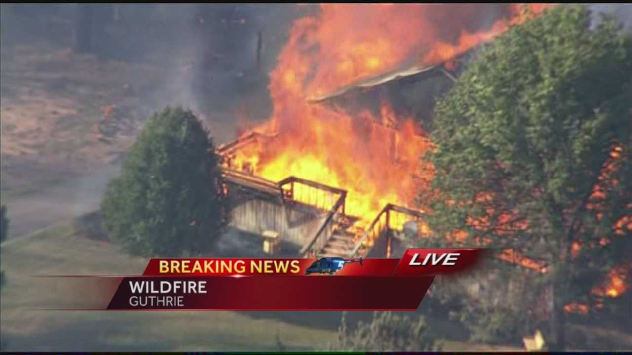 Guthrie fire continuous coverage