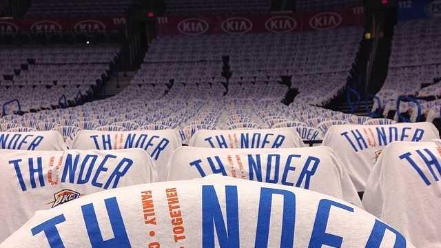 Thunder shirts over seats