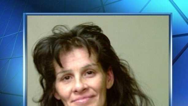 Carmen McDonald was arrested on suspicion of public intoxication.