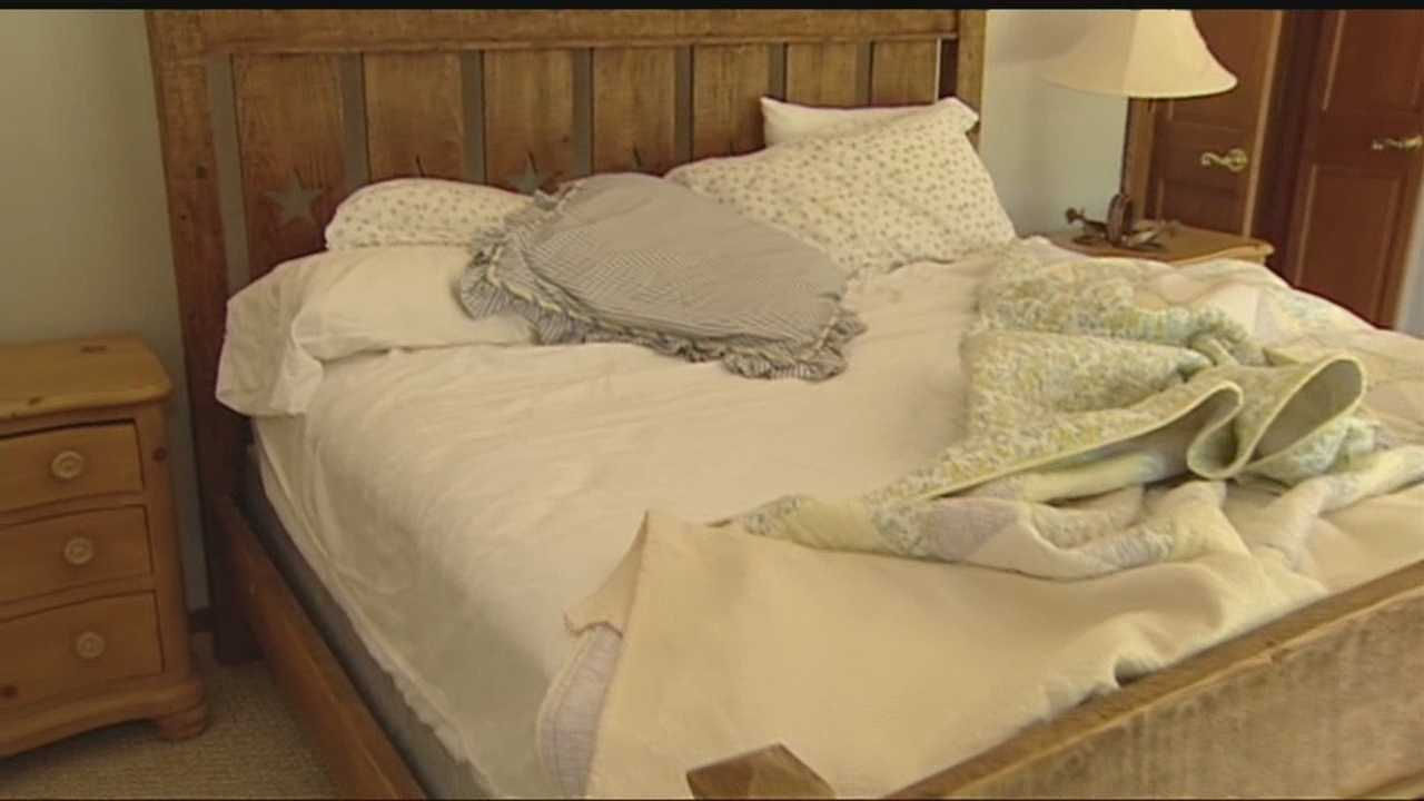 Rancher finds intruders sleeping in bed