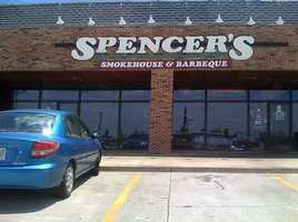"Spencer's - 1 vote.""The very best you could ask for!"" said George Mumford."