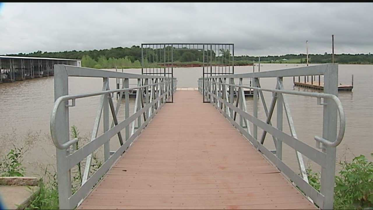 Authorities credit water conservation as one reason Lake Stanley Draper's levels are up.