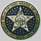 Seal: Oklahoma has for its state seal a symbol that was developed from the history of the state.