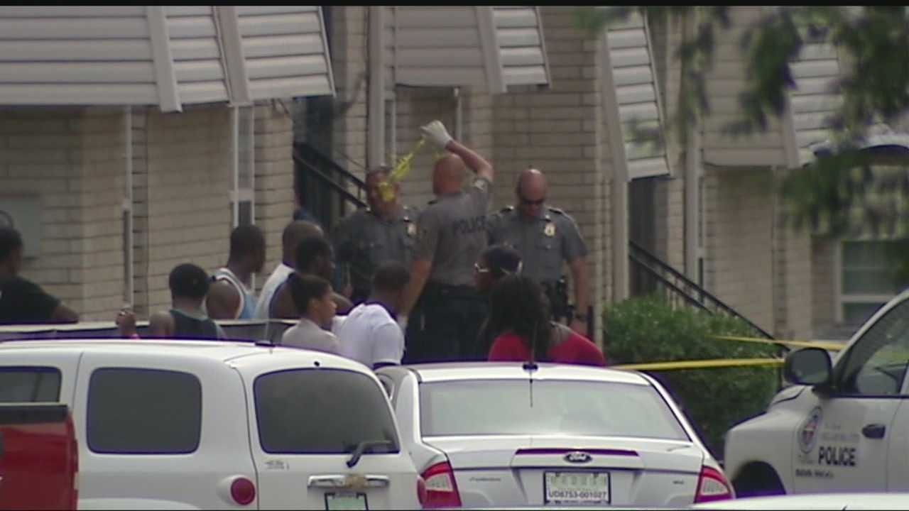 Investigators say a man was found dead inside an Oklahoma City apartment on Sunday.
