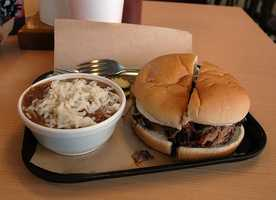 9. Kansas - Kansas ranked 1st in Facebook interest in barbecue and second in Google searches, but overall came in 9th. The state's most famous barbecue joint may be Oklahoma Joe's, which has restaurants in Kansas City, Kansas&#x3B; Leawood, Kansas and Olathe, Kansas.