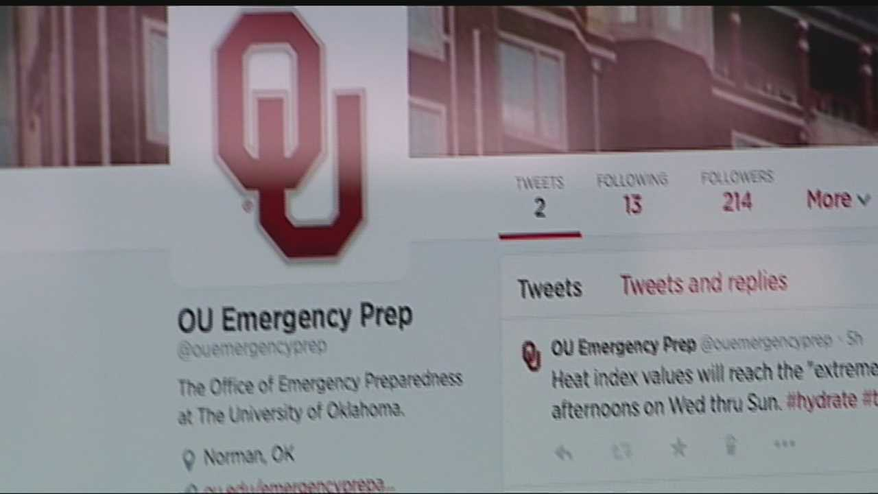A meteorologist is aiding the University of Oklahoma in its efforts to prepare students for severe weather.