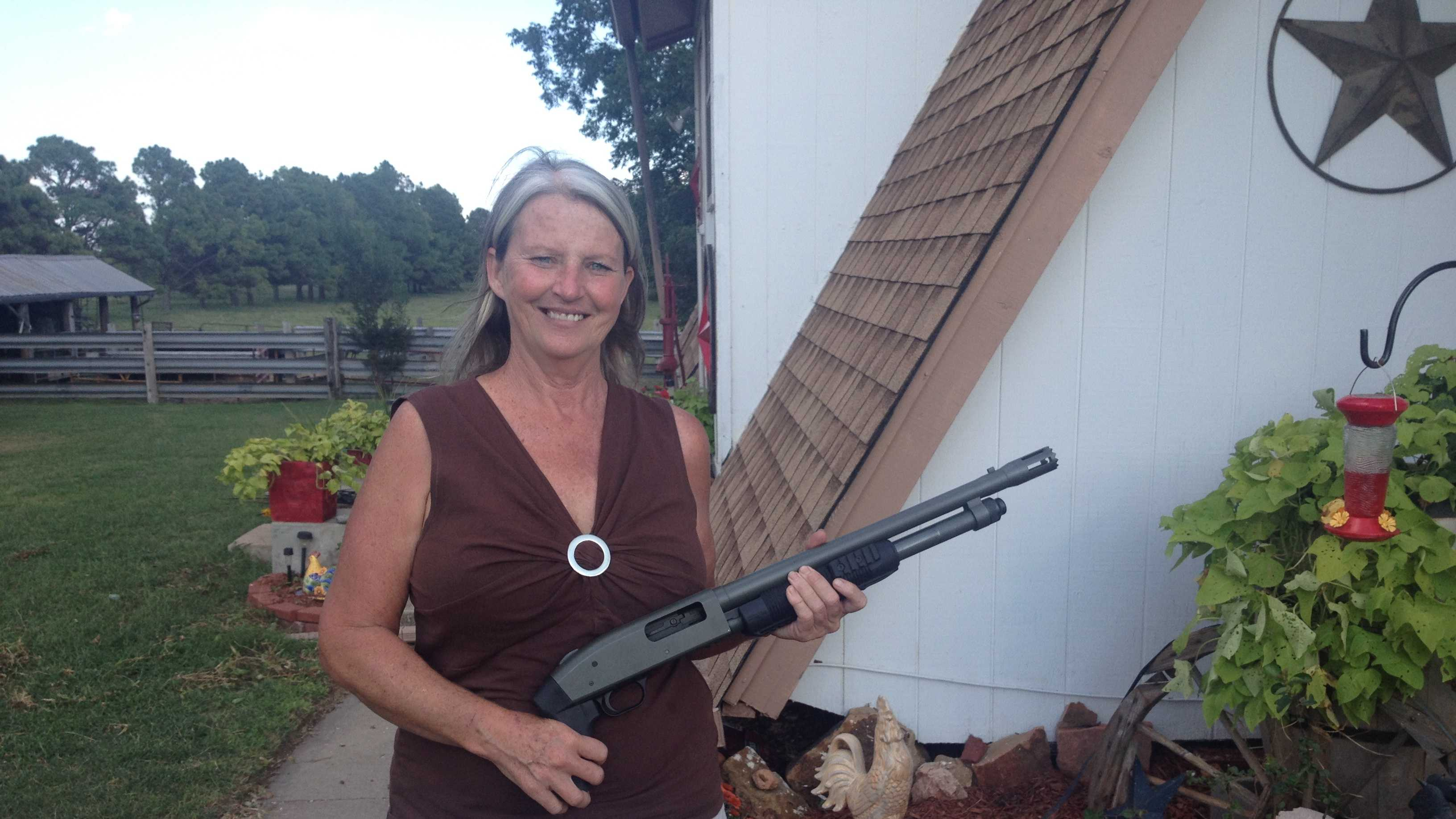 El Reno woman says she shot would-be home intruder in backside
