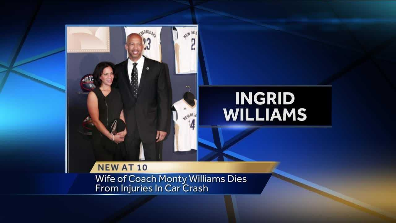 Our thoughts are with the Thunder family and the family of Thunder coach Monty Williams, whose wife was killed in a car crash.