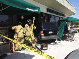 The coffee shop at 1186 South Main Street had major damages but will re-open on Saturday.