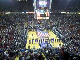 The Sacramento Kings call Power Balance Arena home.