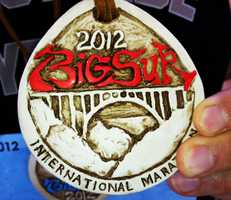 More than 4,500 runners traveled to the Central Coast to take on the full 26.2-mile marathon on April 29, 2012.