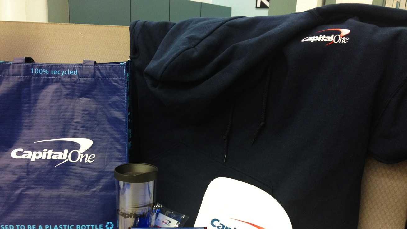 Capital One goodie bag  (May 3, 2012)