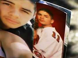 Brandon Gil, 21, of Watsonville, was walking with a friend on the 500 block of Main Street in Watsonville when he was stabbed to death. The homicide happened at 10 p.m. on March 31, 2012 and police said the deadly attack was gang-related. No suspects have been arrested.