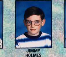 Holmes spent his childhood on the Central Coast. He went to Castroville Elementary School and Gambetta Middle School in Castroville in the 1990s.