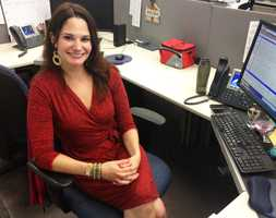 Cassady Evers is the 6 p.m. newscast producer. She decides what you are going to watch!