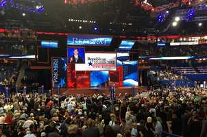 Rick Santorum, who lost his party's nomination to Mitt Romney, spoke at the Republican National Convention on Tuesday.