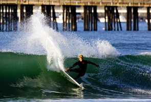 Jonny Craft is a professional surfer who lives in Carmel.