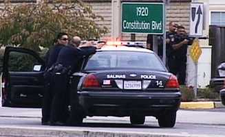 A man who officials said opened fire on Salinas police officers on Sept. 28, 2012 and died after police returned fire was identified as 32-year-old Richard Chacon.