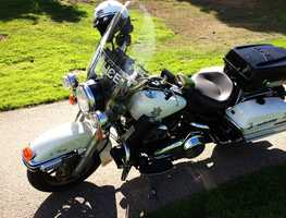 Sgt. Charles Derby was also a motorcycle officer for the Santa Cruz Police Department.