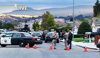 Starting at 5 p.m. on Oct. 11, Hollister police got into a 10-hour standoff with David Jose Quiroz, who was armed and barricaded inside his mother's house on the 2100 block of Cerra Vista Drive, police said.