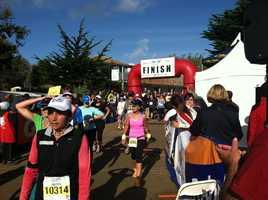 Scenes from the 2012 Big Sur Half Marathon