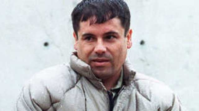 Joaquin El Chapo Guzman Mexico alleged drug lord