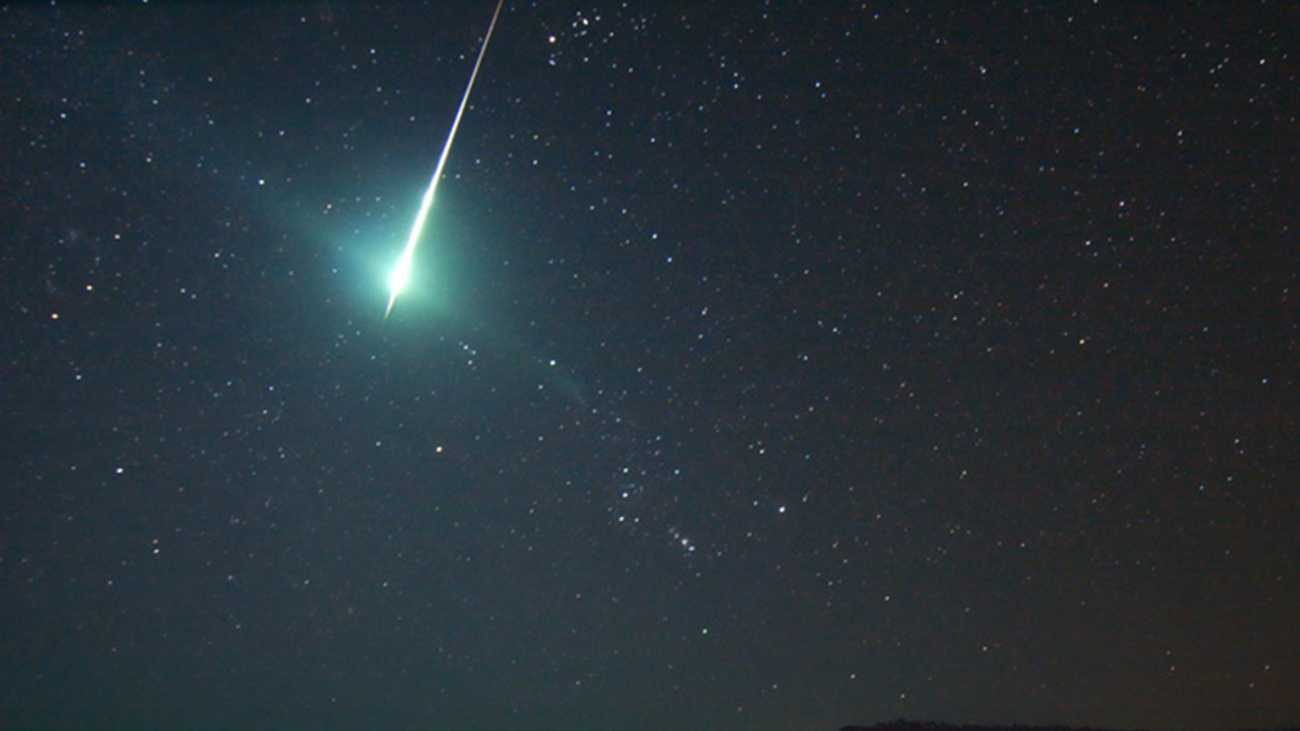 This fireball was photographed in Sept. 2008 by Howard Edin.