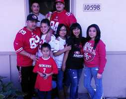 This family is Castroville takes their 49er pride seriously. Upload your photos here
