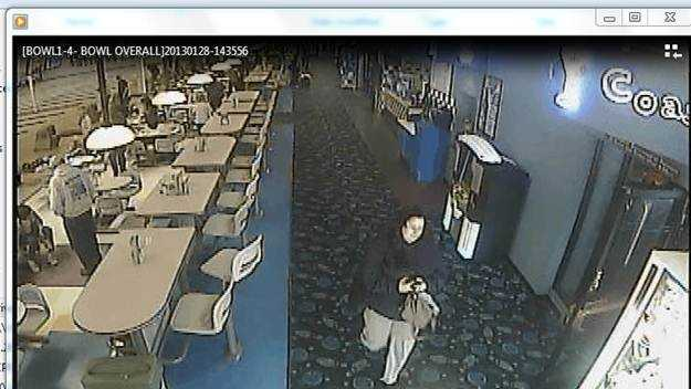Santa Cruz police are looking for an alleged thief after an 80-year-old Holocaust survivor's purse was stolen at the Boardwalk Bowl on Monday.