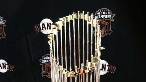 Giants World Championship trophy goes on tour