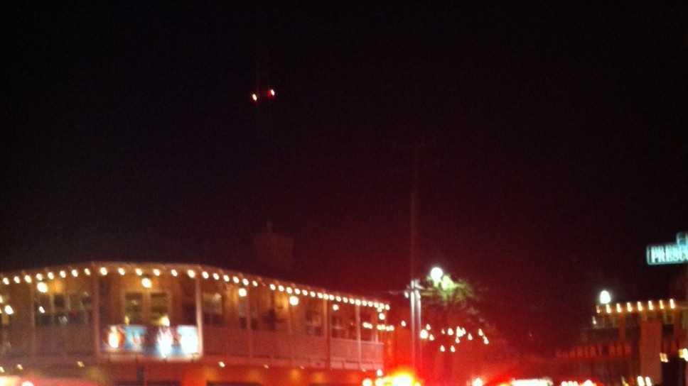 Cannery Row fire