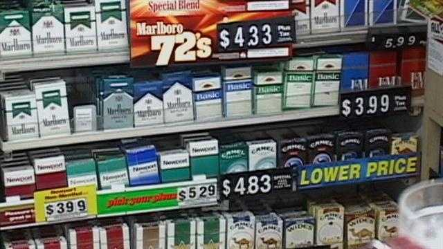 The new tax would cost smokers an extra dollar per pack and is expected to bring in 800 million dollars per year.