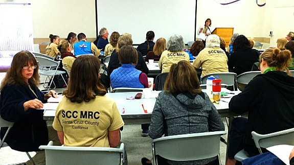 Santa Cruz medical training exercise