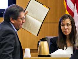 Jodi Arias changed her hair color from blond to brown and began wearing glasses for her murder trial.