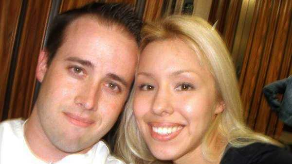 Travis Alexander, left, and Jodi Arias during happier times.