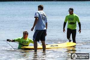"Operation Surf Santa Cruz is an annual event that honors active duty military soldiers through ""an epic life-changing surfing experience,"" volunteers said.Many of the soldiers who participate lost limbs while serving their country fighting in war zones. Soldiers are able to rebuild their confidence and heal in a positive way by learning how to surf with help from legendary professional surfers who live in Santa Cruz."