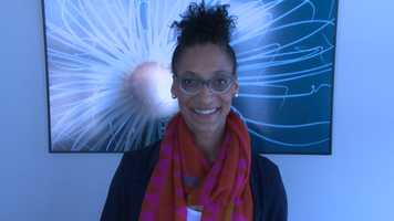 Carla Hall, co-host of The Chew, back for her third year at Cooking For Solutions.