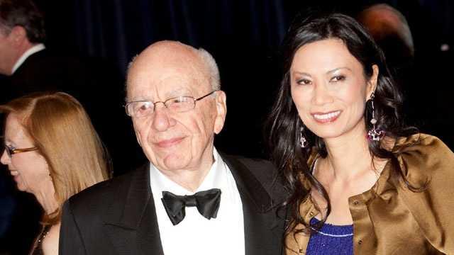 Rupert Murdoch, Wendi Deng Murdoch