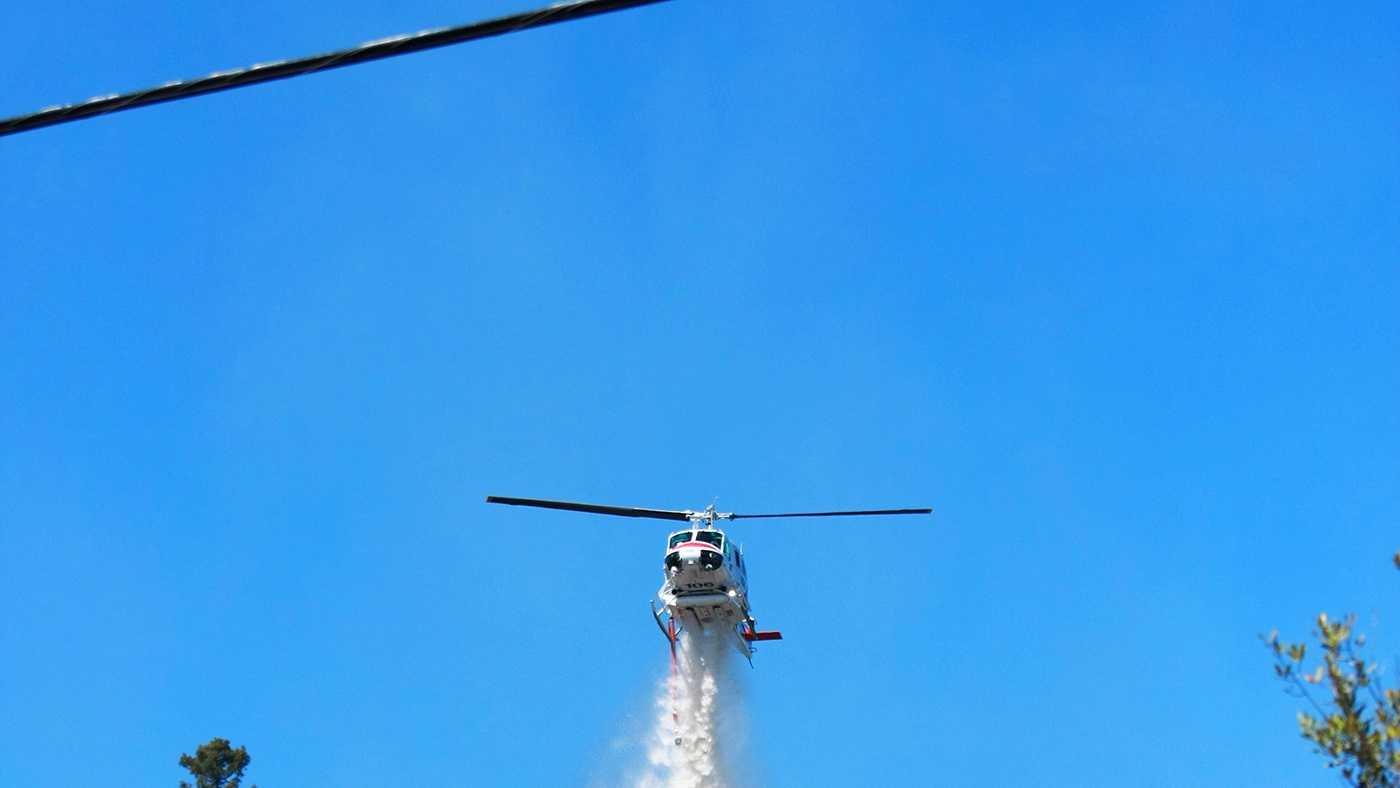Santa Cruz fishhook fire (June 20, 2013) Photo byTim Cattera /