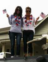 KSBW Anchor Michelle Imperato showed her American pride in Monterey. (July 4, 2013)