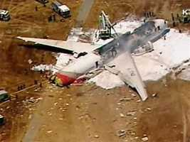 An Asiana Airlines flight from Seoul, South Korea, crashed while landing at San Francisco International Airport on Saturday.