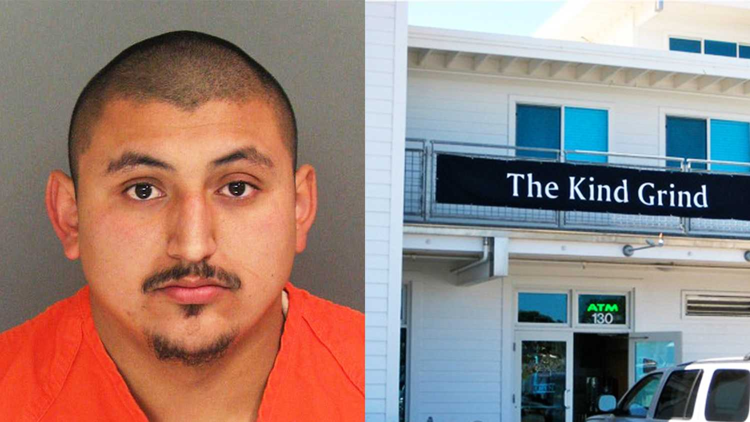 Elvis Lorenzo Garcia attacked a woman in a coffee shop in the Santa Cruz Yacht Harbor.