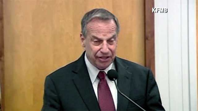 Bob Filner news conference