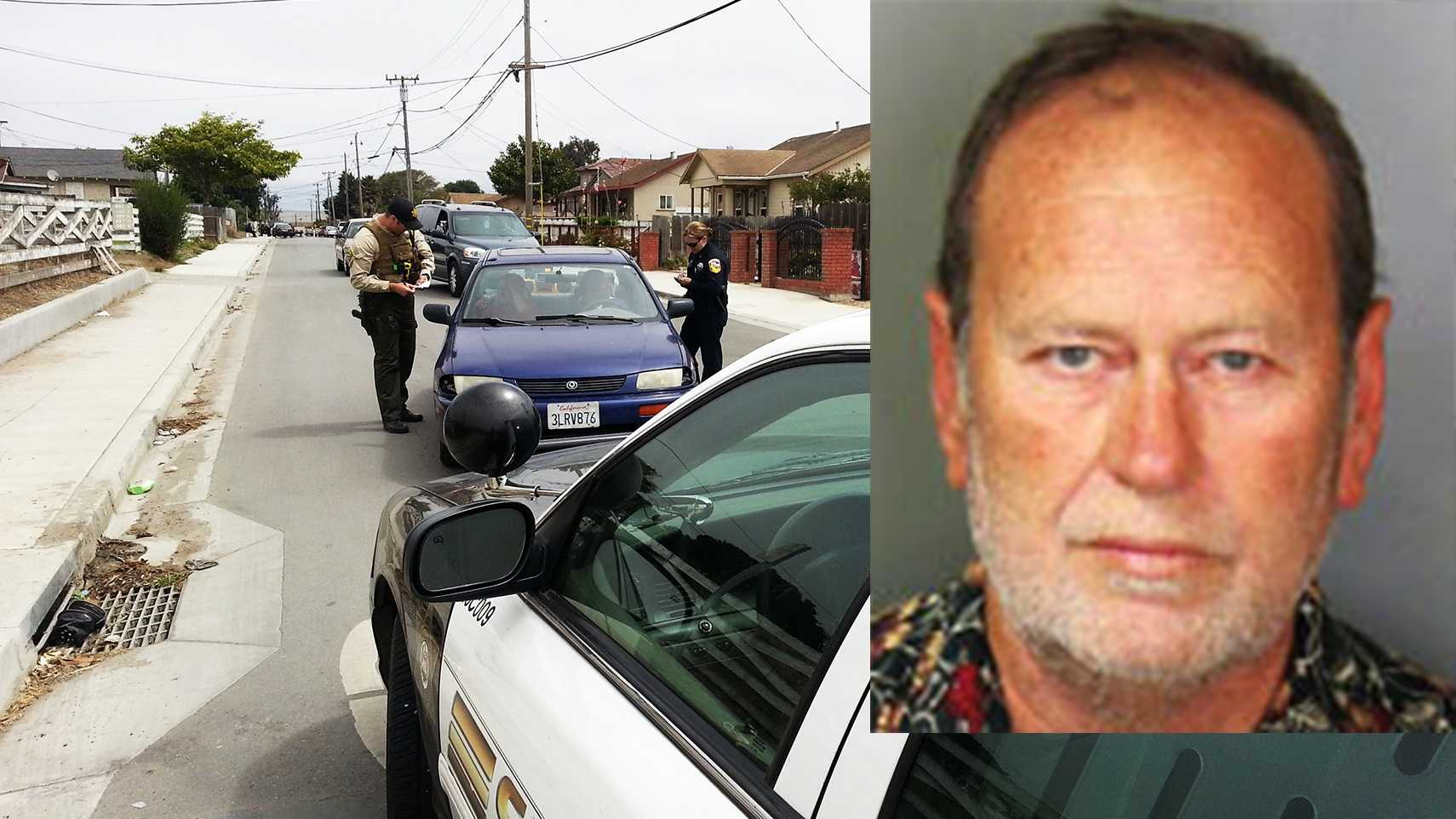 Donald Wayne Crisp, 58, was shot on this street outside his Salinas home.