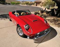"""Bueller? The famous red car used in the 1980s movie classic """"Ferris Bueller's Day Off"""" will cross the auctioning block in Monterey Saturday."""