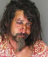 Jamin Hammack, 42, was arrested for disorderly conduct and being publicly intoxicated on the Santa Cruz wharf on June 28, 2013.
