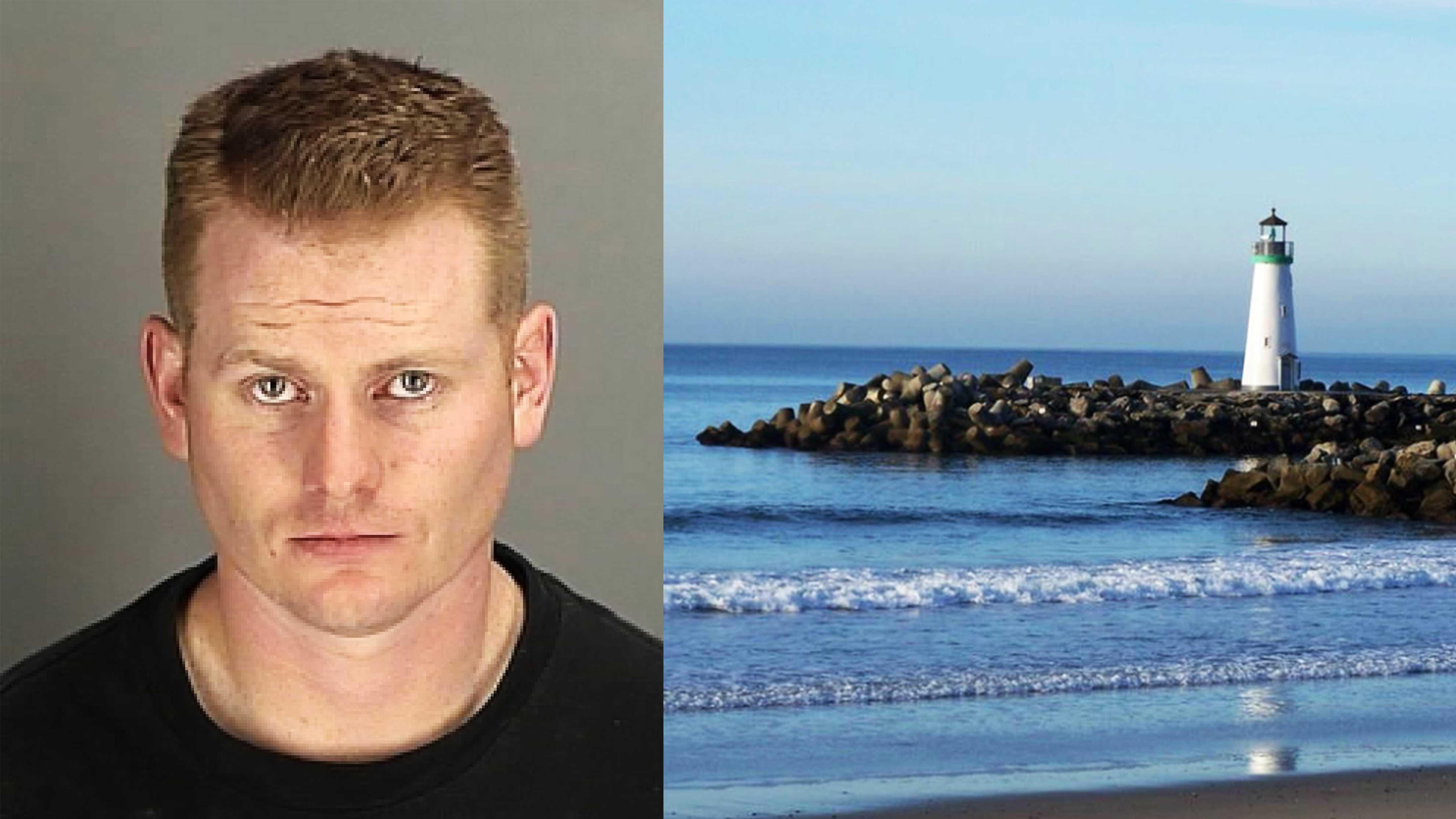 Timothy James Anderson, 30, is the Santa Cruz Harbor's deputy harbormaster.