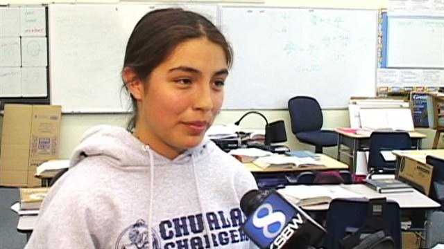 Cecilia Trujillo won the 2013 Monterey County Spelling Bee and graduated from Chualar School.